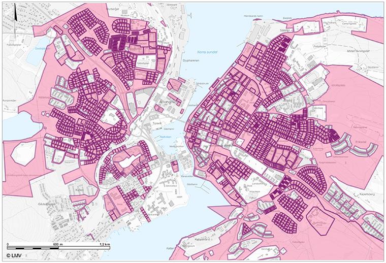 Hrnsands kommun: Byggnader i Hrnsands kommun